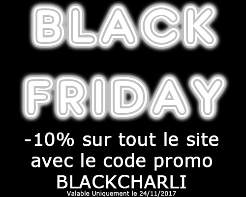 Black Friday code promo