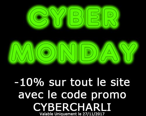 cyber monday charlidiscount -10 pourcent sur tout le site